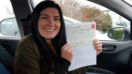 Automatic driving lessons dublin
