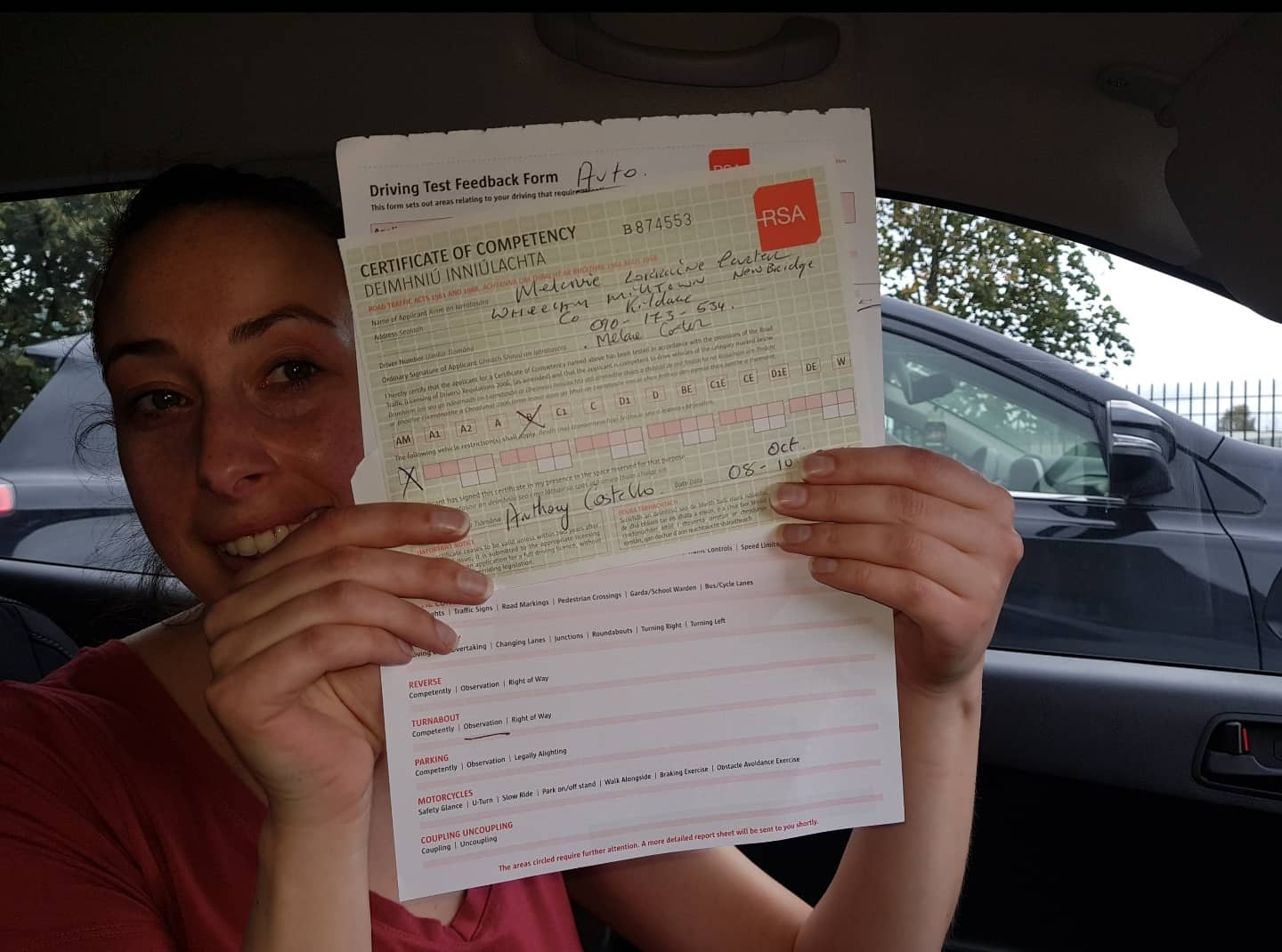 Highest driving test pass rate