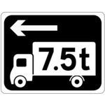 Alternative route for heavy vehicles