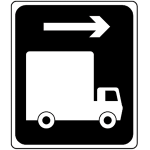 Alternative route for high vehicles