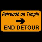 End of detour