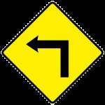 Dangerous corner ahead