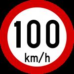 Max speed limit 100kmh