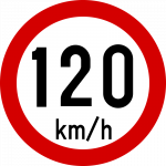 Max speed limit 120kmh