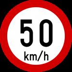 Max speed limit 50kmh