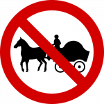 No horse carriages