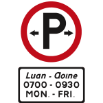 Parking permitted