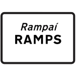 Ramps on road