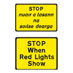 Stop when lights are red
