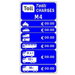 Toll charges