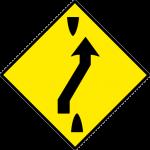 Traffic crossover ahead