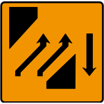 Two-lanes crossover (out)