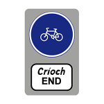 End of cycle track