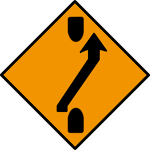 One-lane crossover (out)